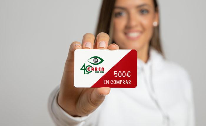 Sorteo de 500 euros en comprar por el 40º aniversario de Federópticos Caren